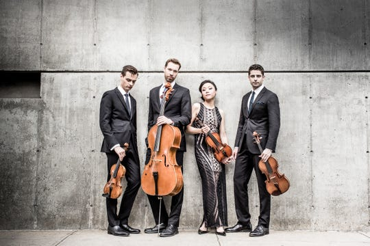 Tesla Quartet will perform at 7 p.m. on Monday, Jan. 14, The Pennington School, Meckler Library, 112 W. Delaware Ave., Pennington.
