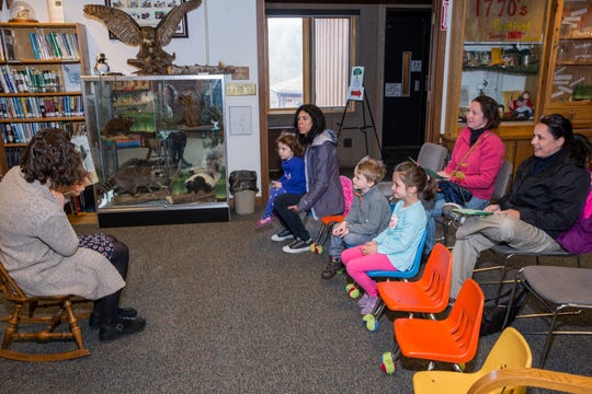 Story Hour will be presented from 10:30 to 11:30 a.m. on Saturday, Jan. 19, at The Somerset County Park Commission Environmental Education Center at 190 Lord Stirling Road in the Basking Ridge section of Bernards.
