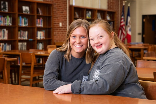 Joy Rector and Evie Sly, Roosevelt High juniors, are one of only seven pairs of students from around the world selected to attend the Global Youth Summit in the United Arab Emirates that coincides with the 2019 Special Olympics World Games in March. The pair have been friends since sixth grade.
