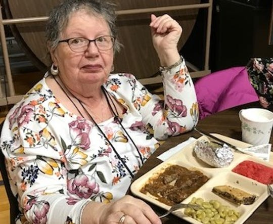 Indianola resident Jeanne O'Brian raves about Warren County Congregate Meal's liver and onions recipe. However, O'Brian admitted, she's not a big fan of lima beans.