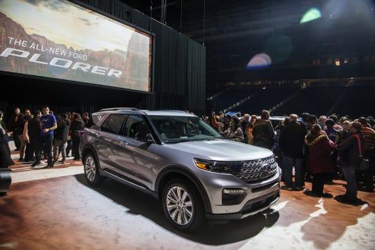 2020 Detroit Auto Show Debuts.Detroit Auto Show Debuts Ford Explorer