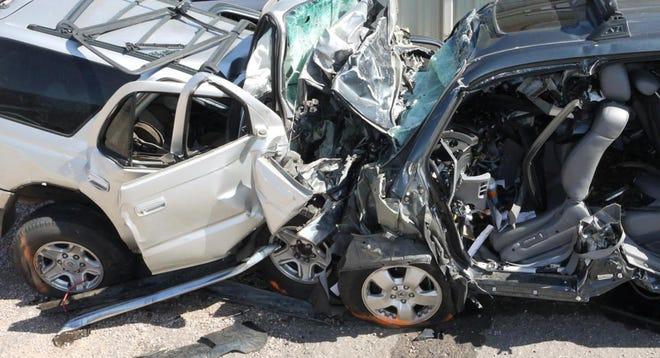 The alleged schemes involved police reports of Detroit car crashes.