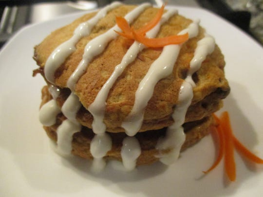 Healthy Table Carrot Cake Pancakes