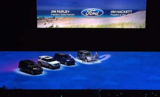 Ford Explorer Options