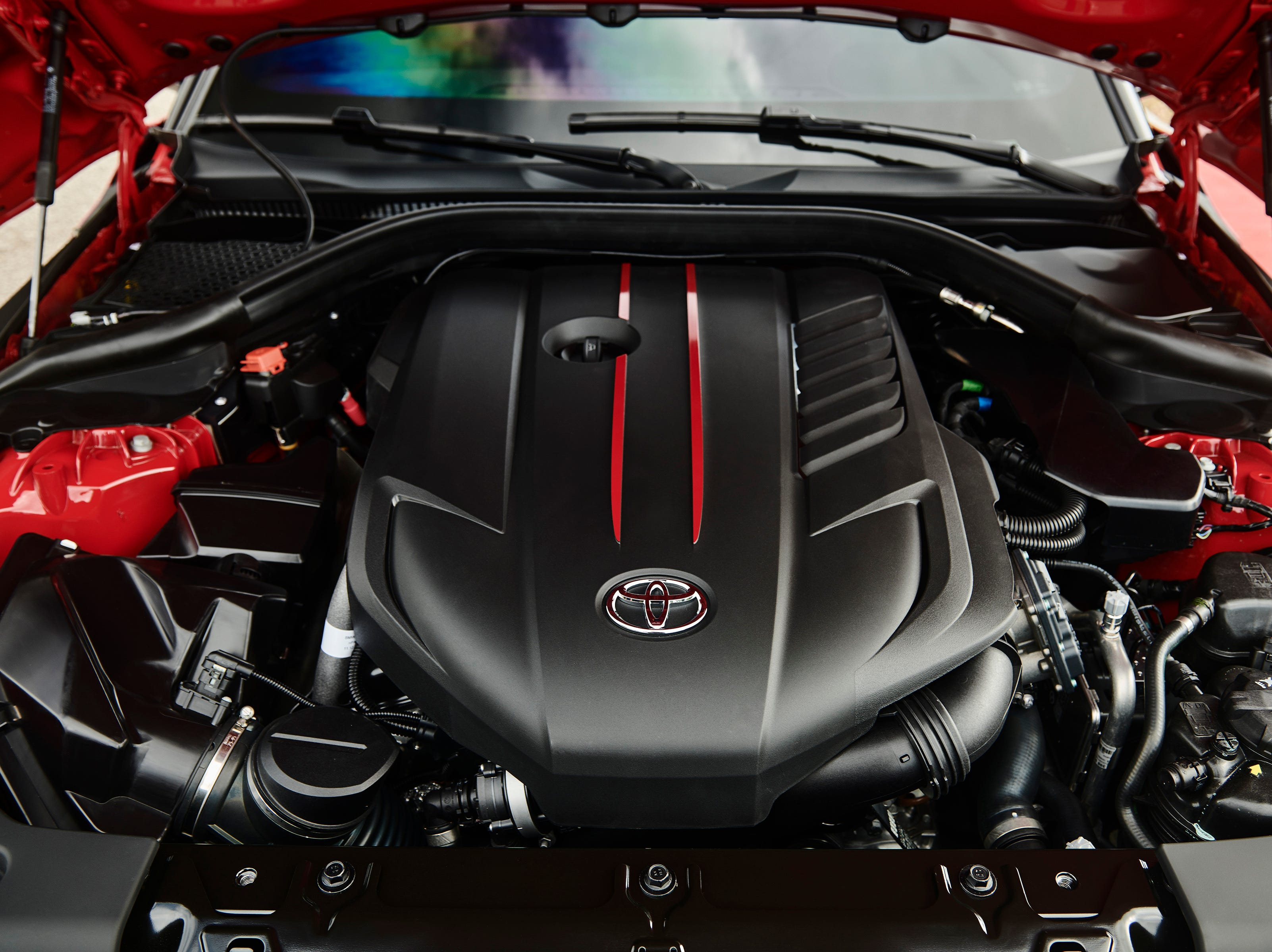 """""""The 2020 Supra will feature a 3.0-liter turbocharged inline six that will produce 335 hp and 365 lb-ft of torque."""""""