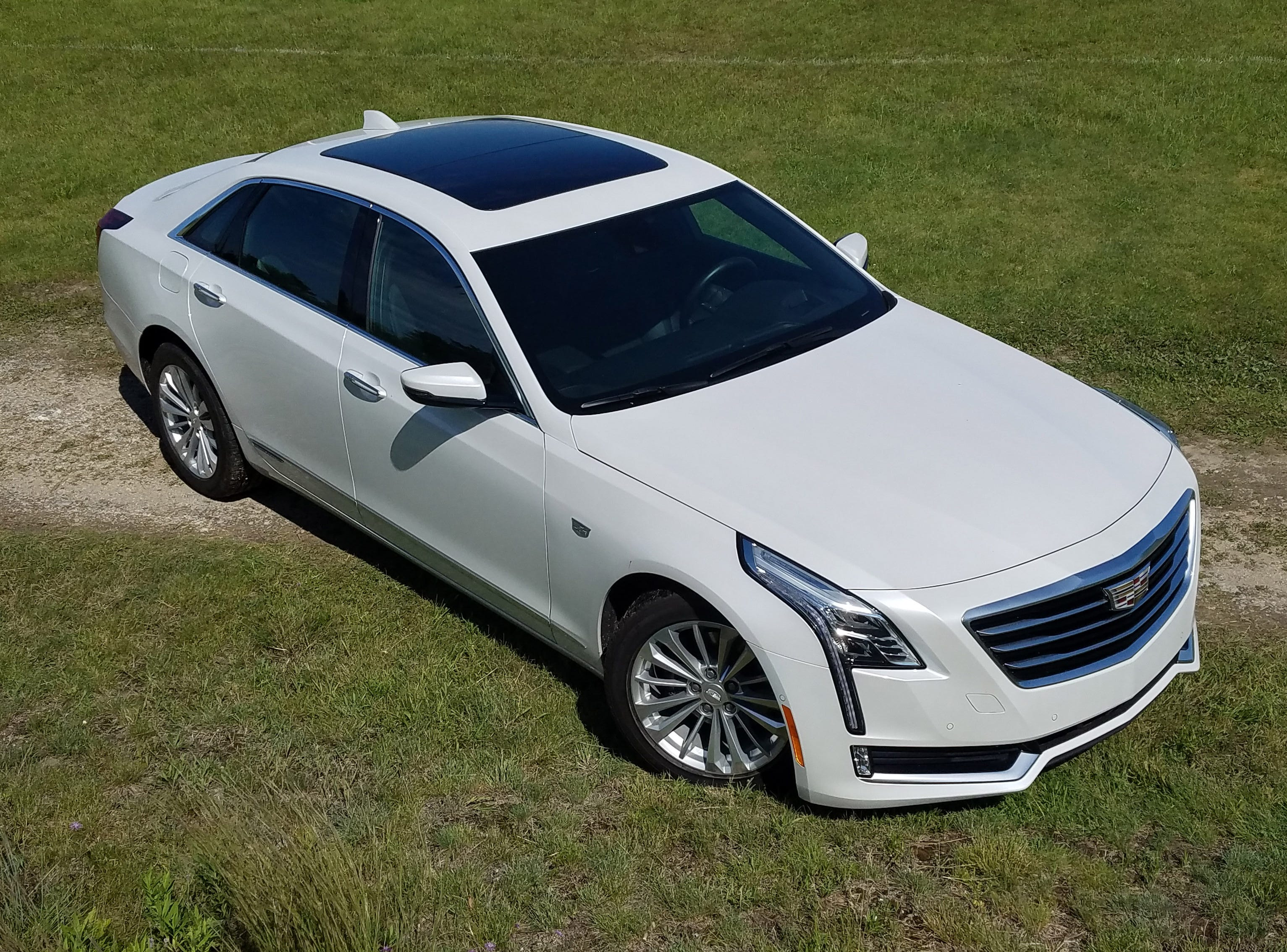 At a single-price $76,090 the 2017 Cadillac CT6 Plug-in is loaded with full sun-roof, safety assist systems, and 31-mile electric-only range.