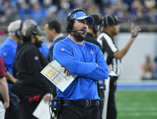 There's been very little movement publicly in the Lions' search to replace offensive coordinator Jim Bob Cooter.