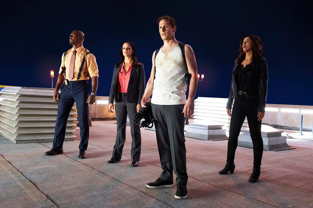 After Getting Canceled By Fox Brooklyn Nine Nine Looks To Silver Linings And Second Chances On Nbc