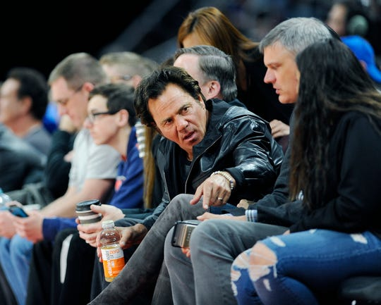 Tom Gores oversees more than 25 companies with around $13 billion in assets through his Beverly Hills-based private equity firm Platinum Equity LLC. He purchased a stake in the Pistons in 2011 and became the sole owner in 2015.
