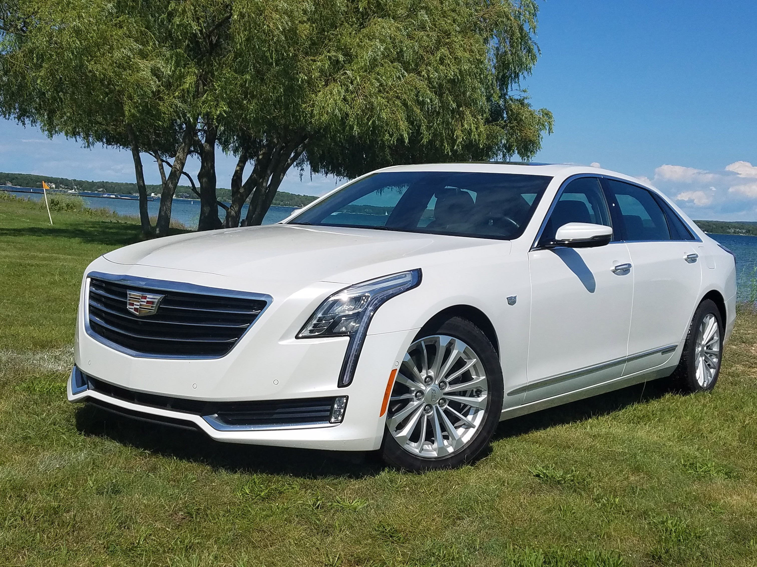 The 2017 Cadillac CT6 Plug-in sports a combined EV and gas-engine range of 440 miles, making it a reliable tool for long-range trips beyond urban charging infrastructure.