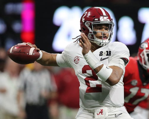 Alabama Qb Hurts Enters Transfer Portal Could Tcu Be Potential Landing Spot