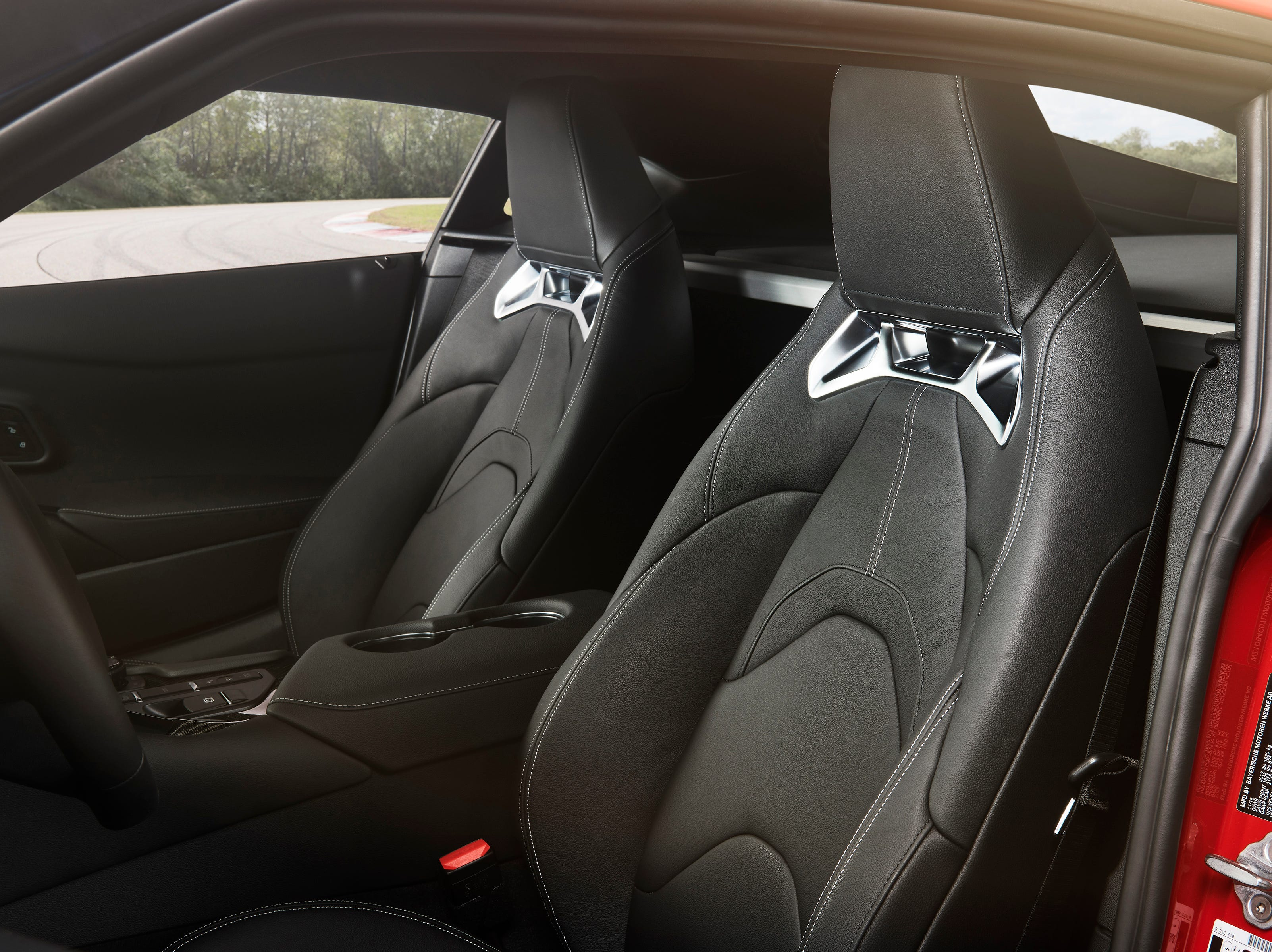 """""""The 2020 Supra cockpit deftly blends traditional GT elements with ultra-modern functionality. The low, narrow-section dash gives the driver expansive forward visibility, ideal for precisely placing the car in corners."""""""
