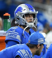 Matthew Stafford appears to be the Lions' quarterback of the near future.