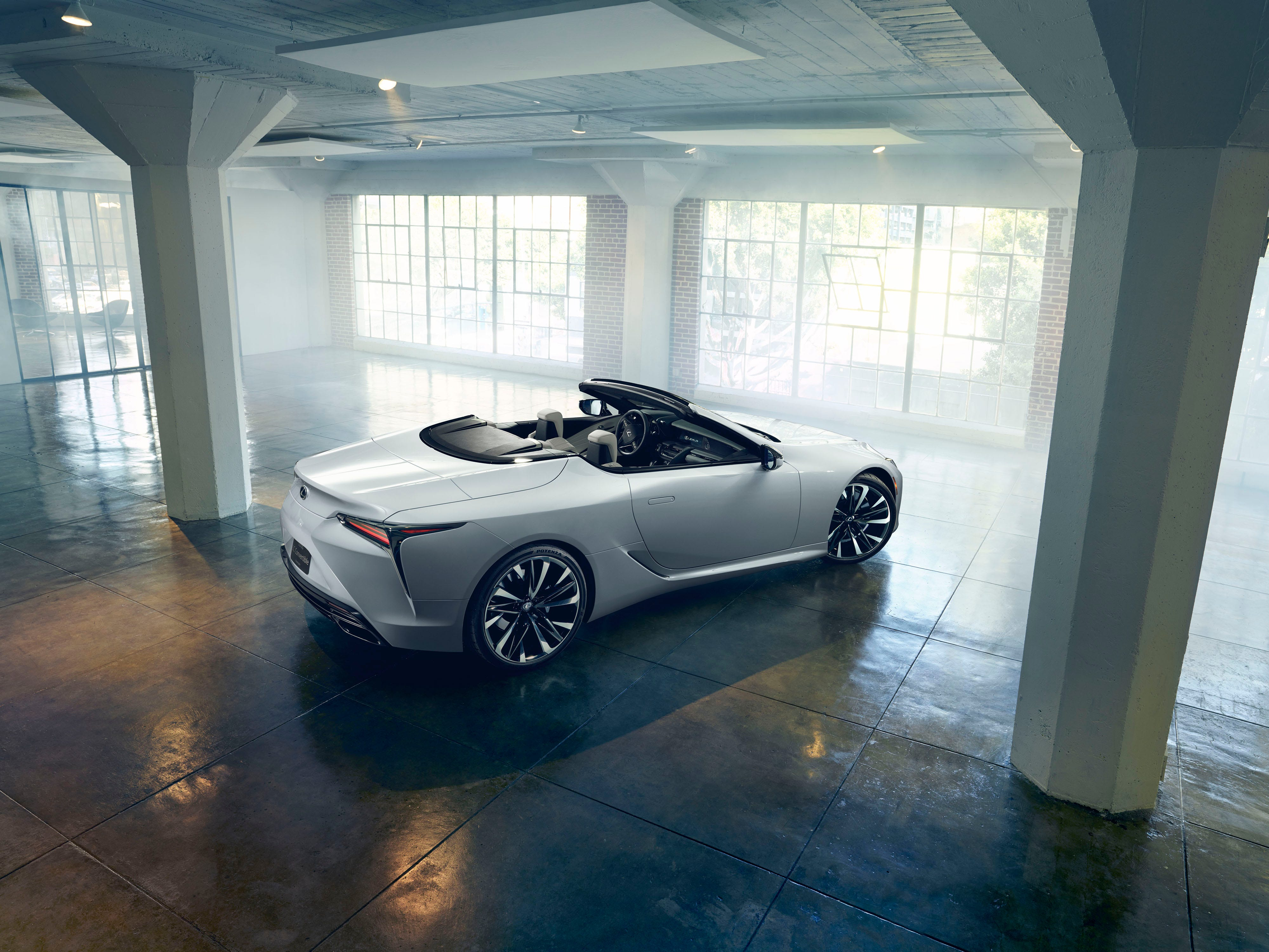 The Lexus LC Convertible Concept will make its debut at the 2019 North American International Auto Show.