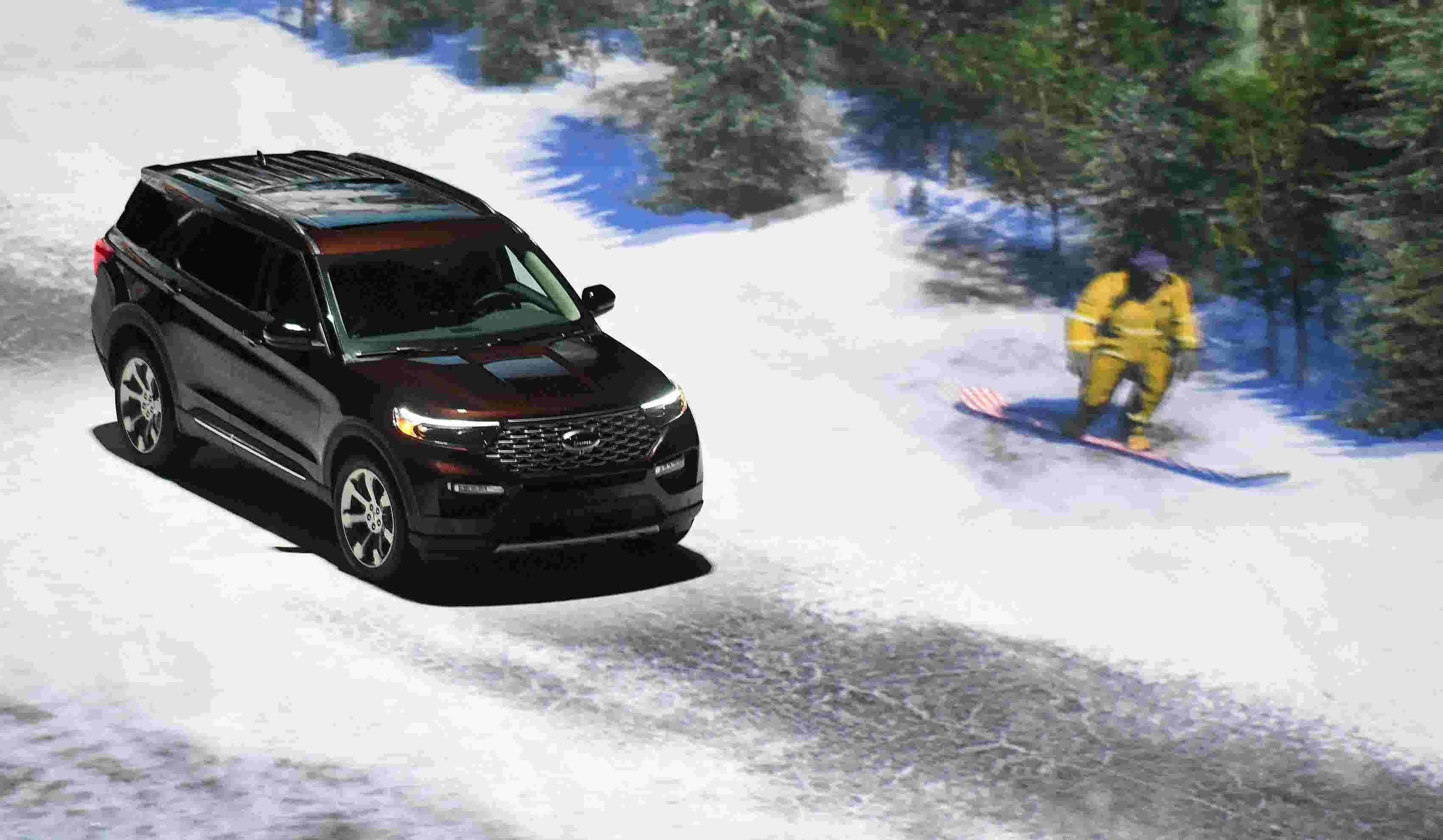 Ford Reveals All New 2020 Explorer Suv