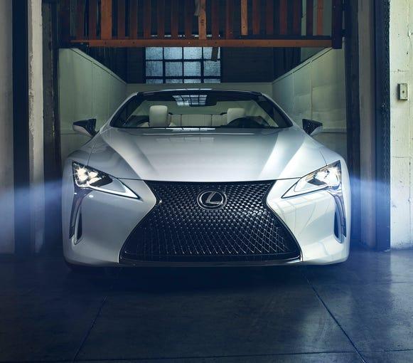2019 Lexus Lc: Lexus LC Convertible Concept
