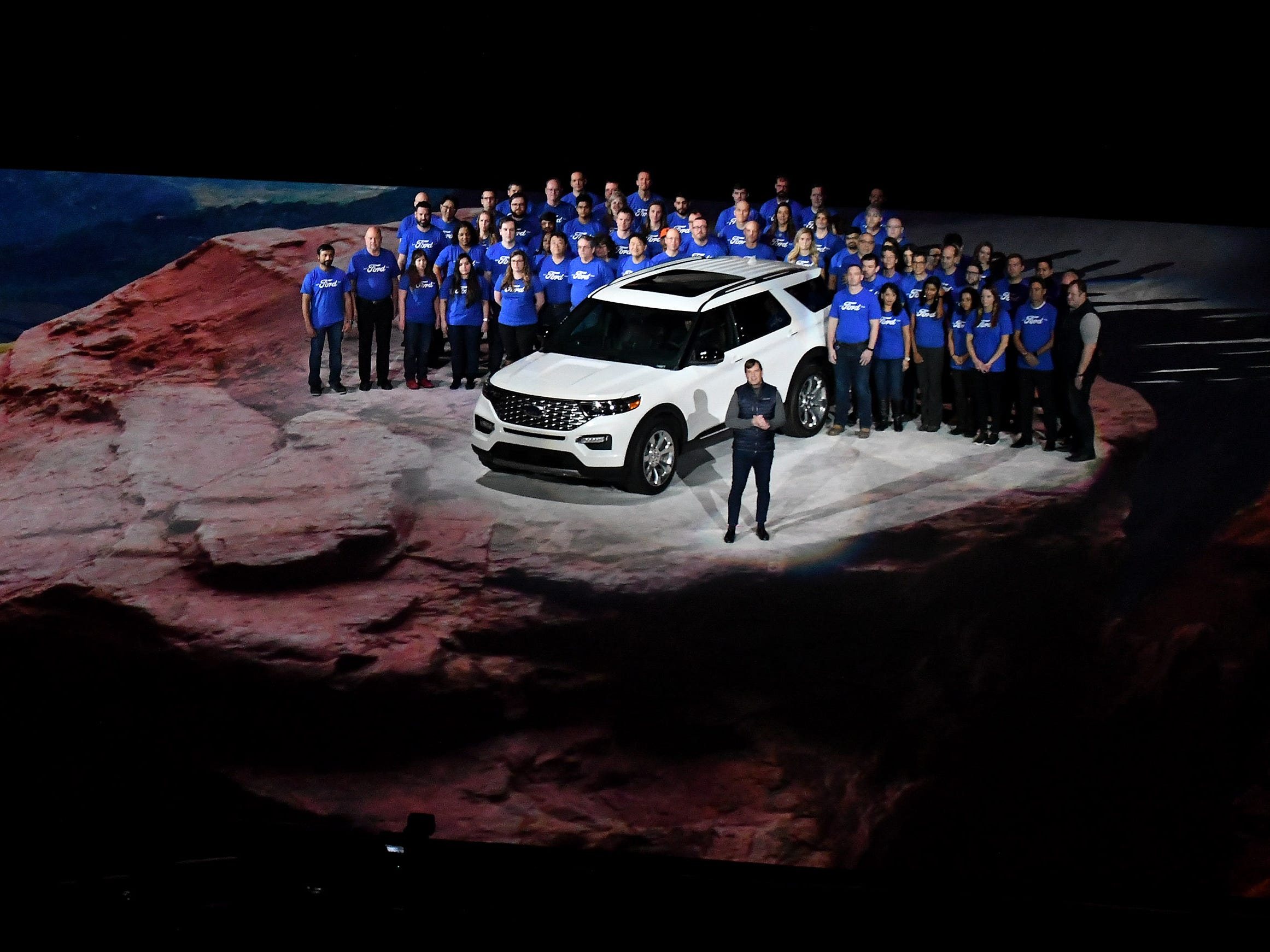 James Farley, Ford Motor Co.'s executive vice president and president, Global Markets, and the Explorer team.