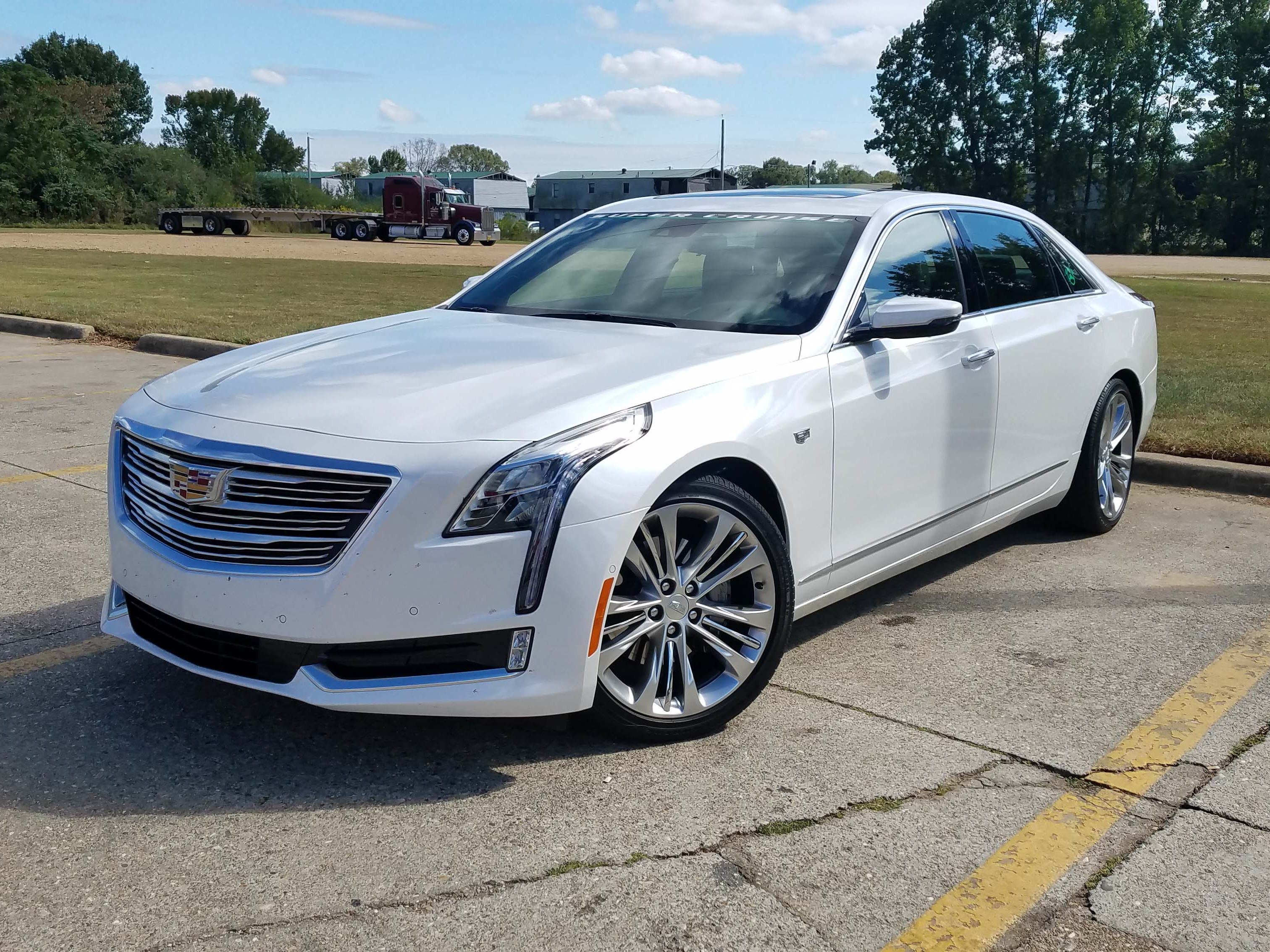 SuperCruise driver assist is available standard on the 2017 Cadillac CT6 Platinum sedan. It is a $5,000 feature on other CT6 models.