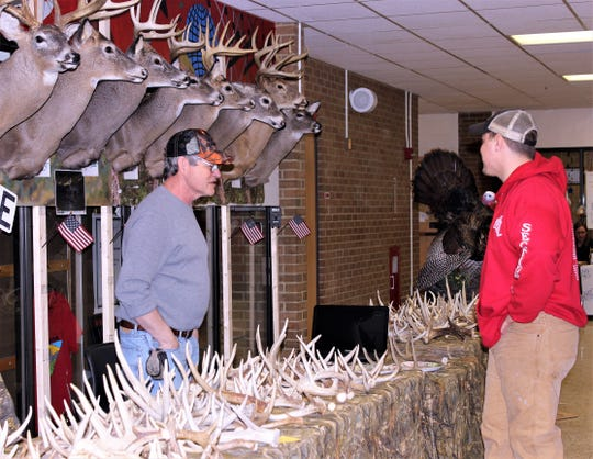 Visitors will be able to see lots of antlers and plenty of other outdoor-related items at the upcoming Spencer-Van Etten Sportsman Day.