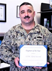 Elmira native Lt. Cmdr. Alfred M. Nuzzolo was named Military Engineer of the Year by the U.S. Navy.
