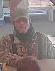 Evansville police released this image of a man who held up the Fifth Third Bank at 2350 Washington Ave.