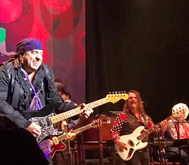 Little Steven and the Disciples of Soul put the size of the Meyer Theatre stage to the test when they played there in November. The band included nearly 20 members.