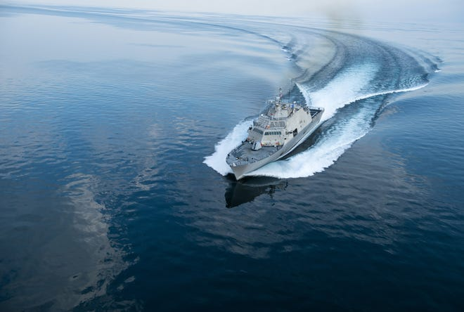 USS USS Wichita completed acceptance trials in Lake Michigan in the summer of 2018.