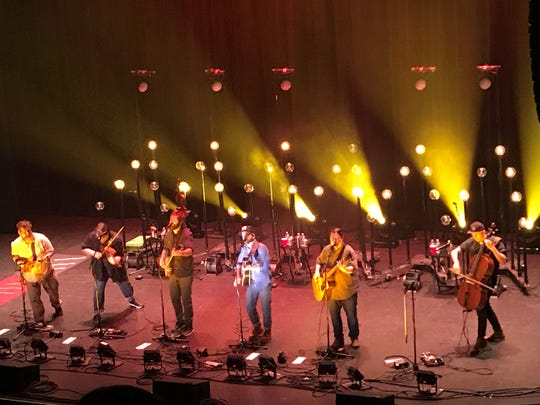 Trampled By Turtles kicked off their 2019 tour with a sold-out show Wednesday night at the Meyer Theatre.