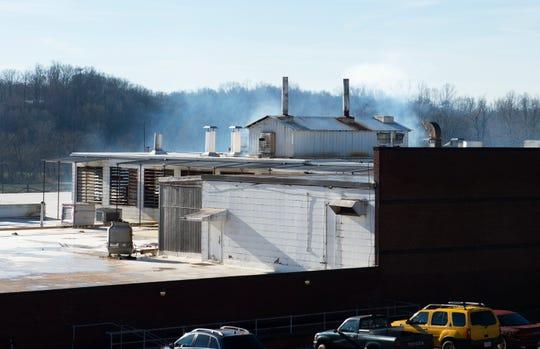 The mill in Slater Thursday, Jan. 10, 2019.