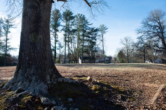 Greenville County Redevelopment Authority is planning to build on this site in Slater Mill Village. Photo taken Thursday, Jan. 10, 2019.