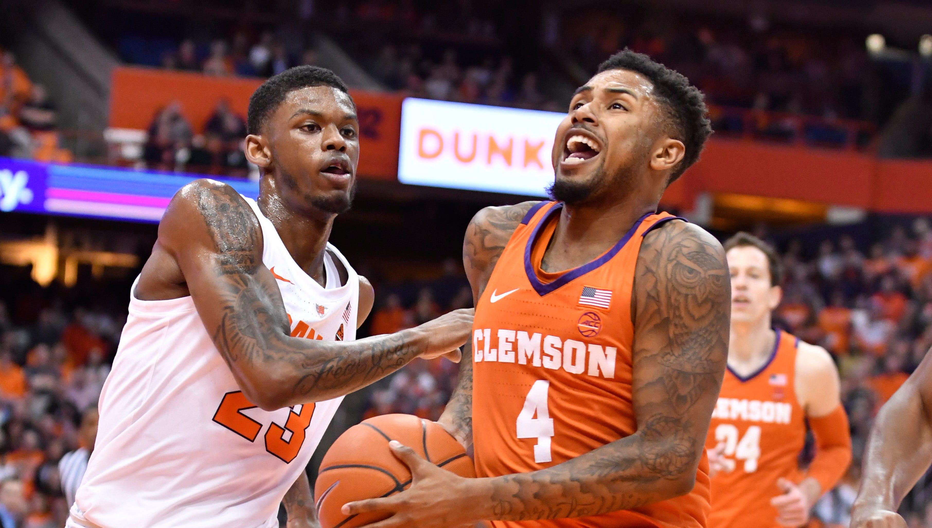 Syracuse Basketball Uses Press To Take Down Clemson