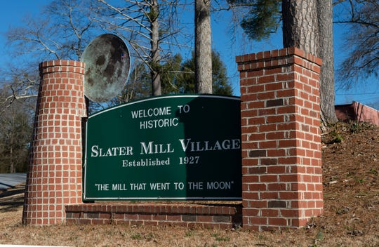 Slater Mill Village Thursday, Jan. 10, 2019.