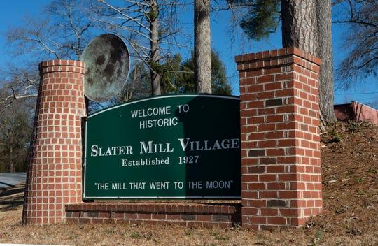 Slater Mill Village Thursday, Jan. 10, 2019.