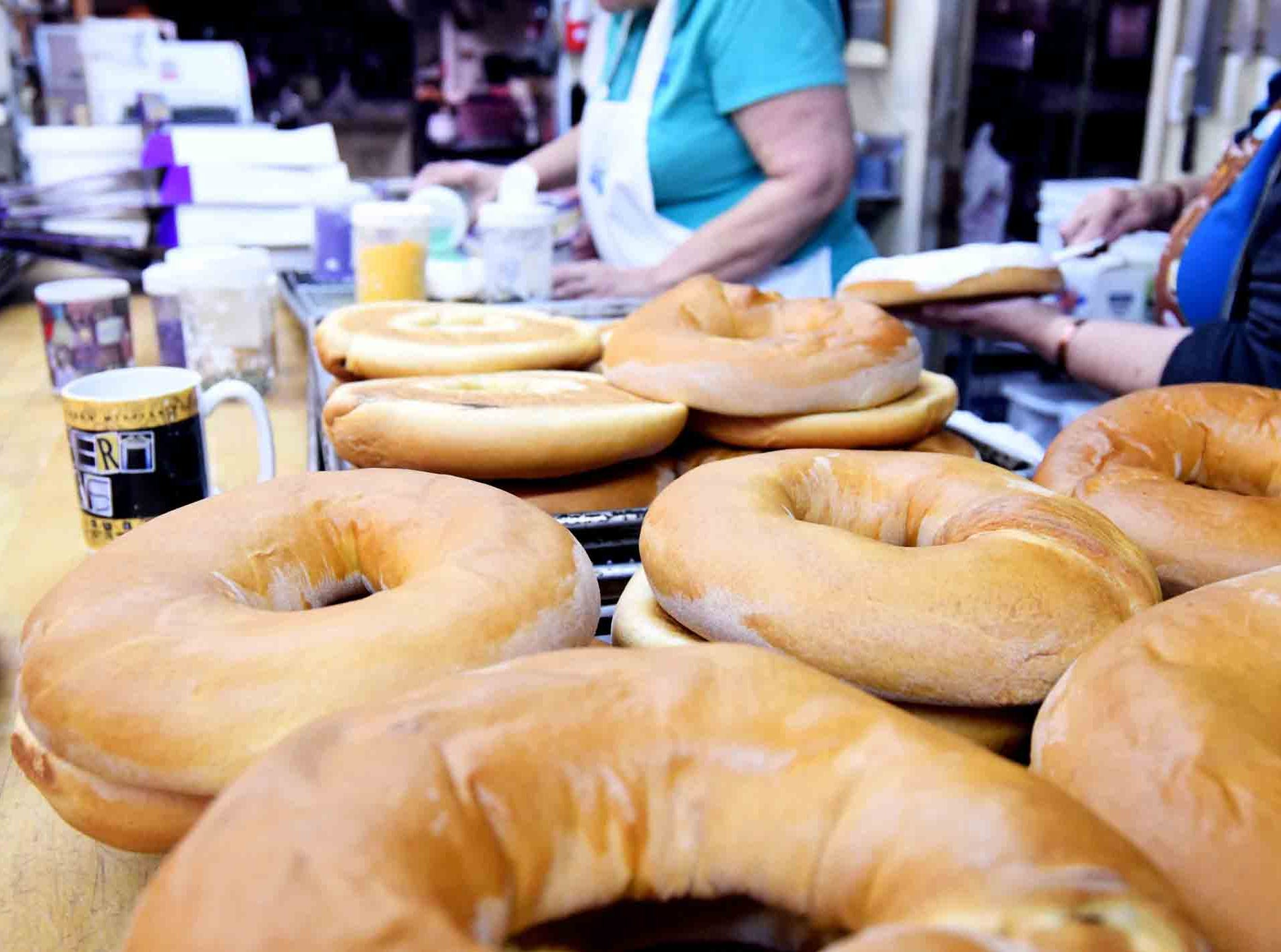 Fresh baked dough waits to be iced as king cakes at Jody's Bakery in Hattiesburg. The bakery provides around 15 different flavors of king cakes. They can be found at Keith's Superstore, Strick's BBQ and Pier 98.