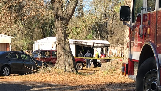 One person was killed in a house fire Thursday morning on Annie Lane in Hattiesburg.