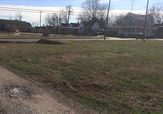 This block of Letcher Street, directly across from the East End Park, will be turned into three Habitat for Humanity houses, each home to a family with children.