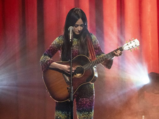 "Kacey Musgraves showcased songs from her ""Golden Hour"" album Wednesday at Old National Centre."