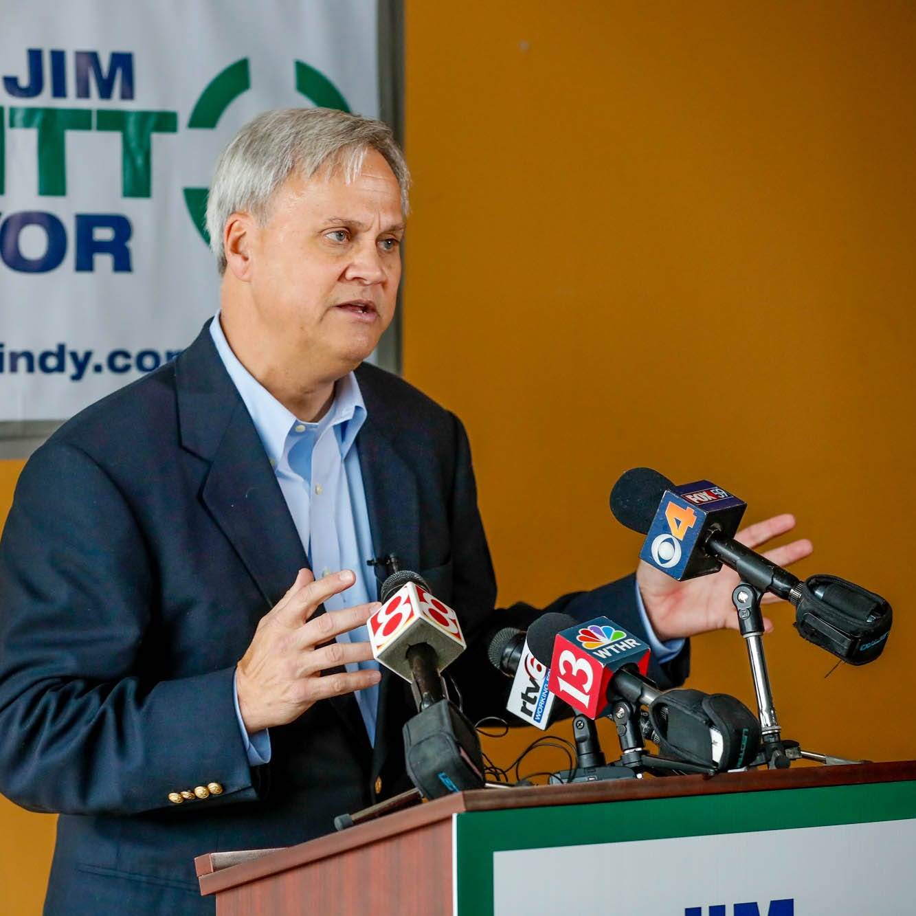 Jim Merritt's fellow Republicans criticize 'tacky, distasteful' campaign on potholes