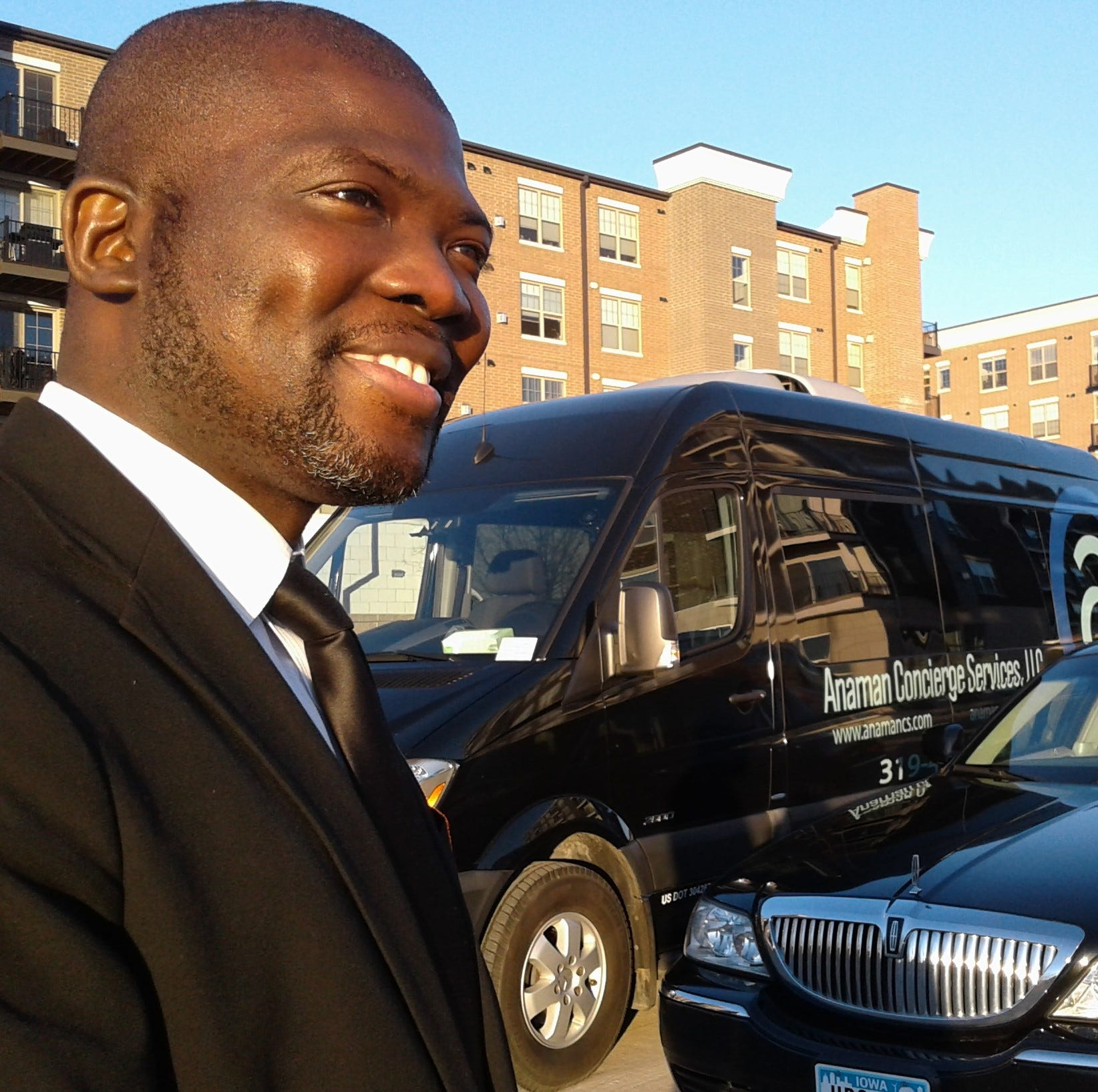 Lure of love leads African immigrant to launch Iowa City limo business