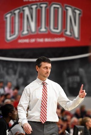 Union University's head women's basketball coach Mark Campbell.