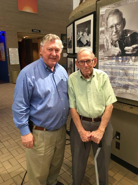 Ray Smith and Ed Westcott