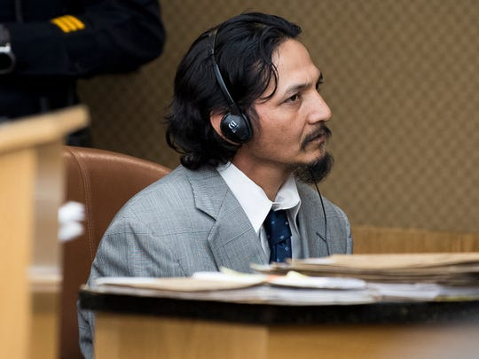 Francisco Eduardo Franco Cambrany during his hearing in Knox County General Sessions Court on Thursday, January 10, 2019.