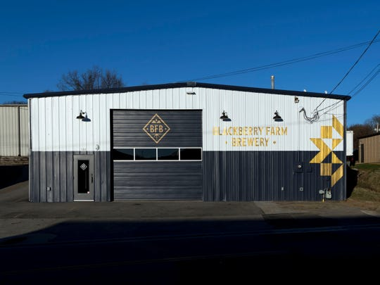 The Blackberry Farm Brewery and taproom in Maryville.