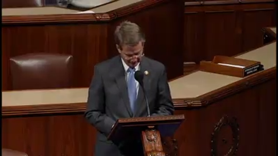 Congressman Burchett discusses the death of Pierce Corcoran, and stresses the need for stronger border security in his first House floor speech.