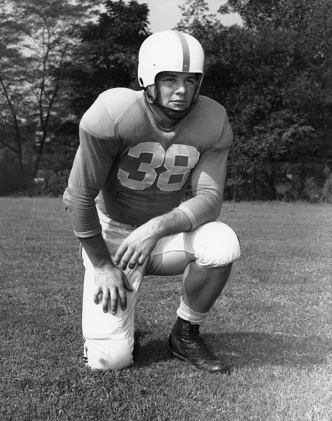 John Michels was a Tennessee All-American as a senior in 1952.