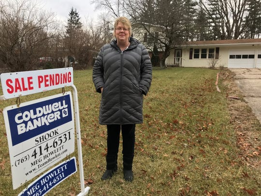 Meg Howlett, a Lafayette real estate agent, says the sale of this house on Homewood Drive, west of West Lafayette, is in limbo after the closing on a USDA-backed loan was pushed back until the end of the partial federal shutdown.