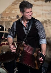 Steve Riley and the Mamou Playboys perform Saturday at La Poussiere Dancehall in Breaux Bridge.