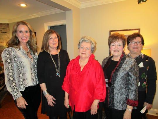 Therese Culotta, Sid Webre, Sally Herpin, Linda Alesi and Ramona Mouton
