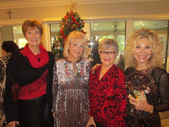 Denise Bienvenu, Gretchen O'Neal, Beverly Comeaux and Linda Gondron