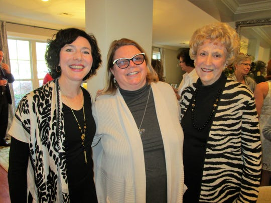 Nanette Heggie, Jan Risher and Pat Olson